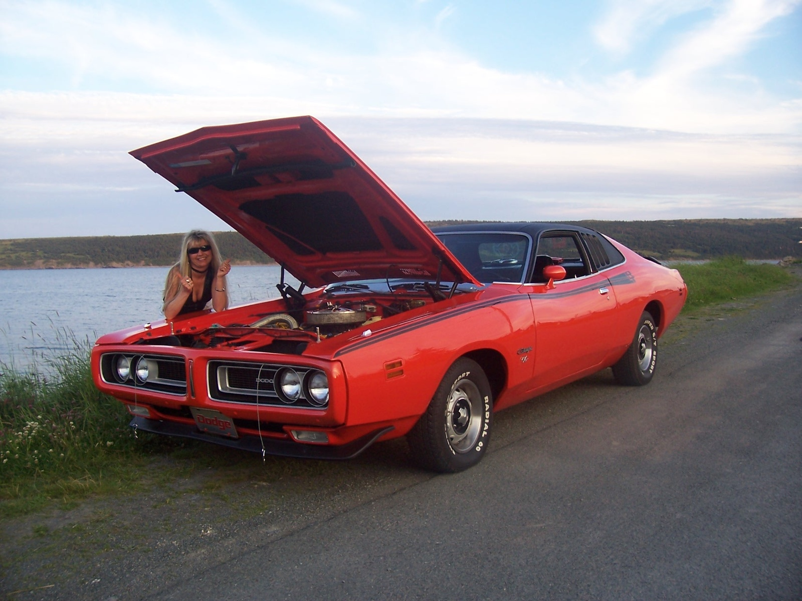 1973 dodge charger r t old vs new challenger 1969 dodge charger 2008 ...
