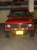 1995 Mitsubishi Montero Overview