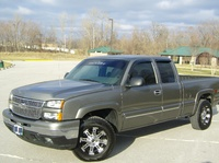 2006 Chevrolet Silverado 1500 LT1 Ext Cab Short Bed 4WD picture, exterior