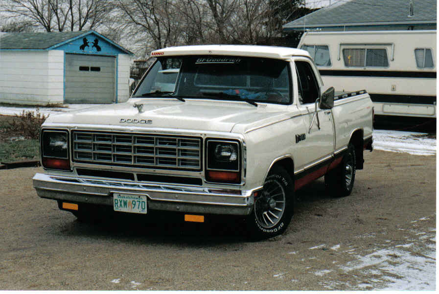 1986 Dodge Ram - Other Pictures