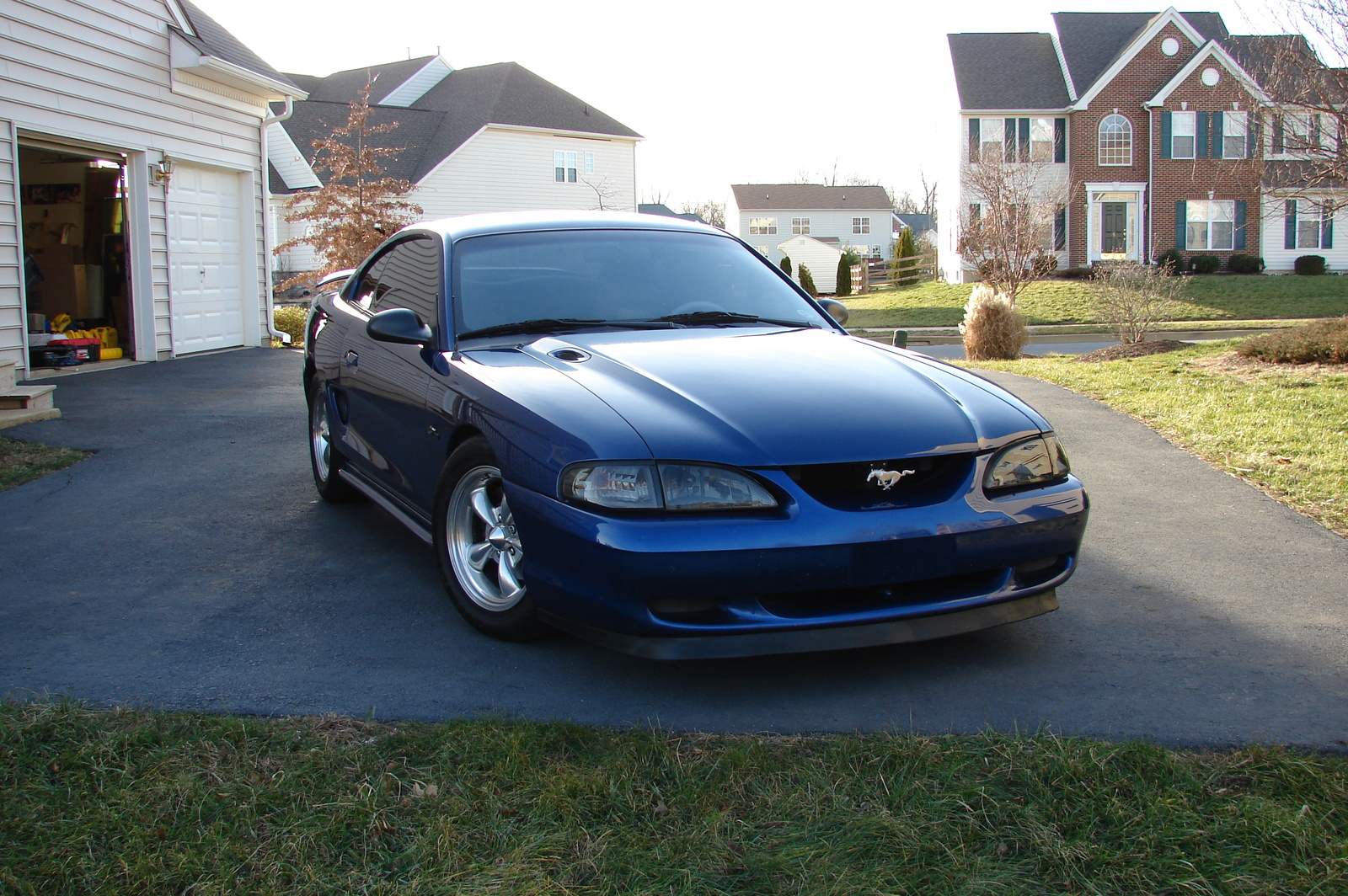 1996 Ford Mustang GT Coupe, 1996 Ford Mustang 2 Dr GT Coupe picture
