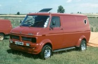 1985 Bedford Dormobile Overview