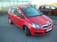 2006 Opel Zafira Overview