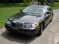1998 Lincoln Town Car Executive, 1998 Lincoln Town Car 4 Dr Executive Sedan picture, exterior