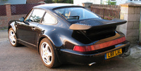 1992 Porsche 911 Turbo, 1992 Porsche 911 2 Dr Turbo Coupe picture, exterior