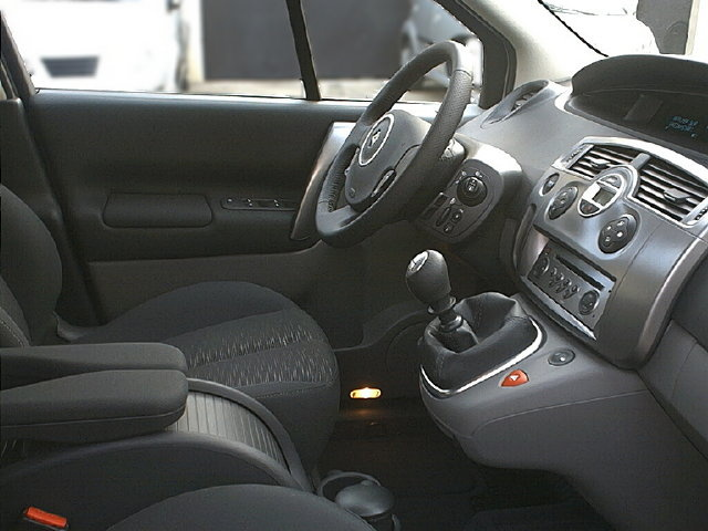 2008 Renault Grand Scenic Interior Pictures Cargurus