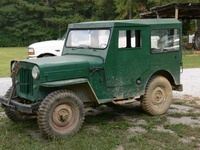 1963 Jeep CJ3B Overview
