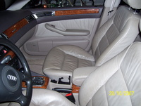 1999 Audi A6 4 Dr 2.8 quattro AWD Sedan picture, interior