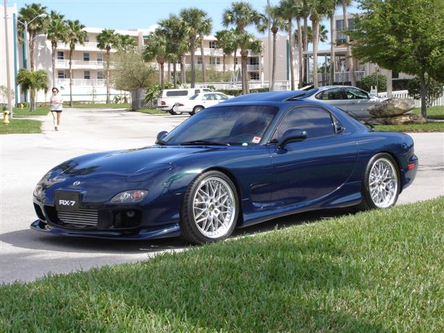 1995 Mazda RX-7 2 Dr Turbo Hatchback picture, exterior