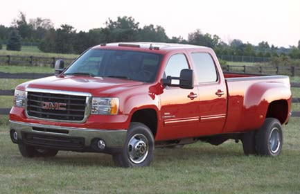 2008 GMC Sierra 3500HD Work Truck Ext. Cab DRW 4WD picture