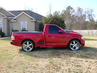 Picture of 2001 Ford F-150 SVT Lightning 2 Dr Supercharged Standard Cab Stepside SB, exterior, gallery_worthy