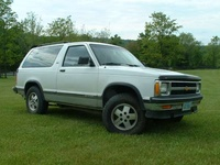 1992 Chevrolet S-10 Blazer Overview