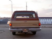 1983 Chevrolet Suburban Overview