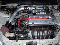 1995 Honda Civic Coupe picture, engine