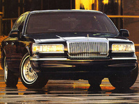 1995 Lincoln Town Car Executive, 1995 Lincoln Town Car 4 Dr Executive Sedan picture