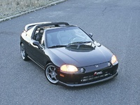 1996 Honda Civic del Sol Overview