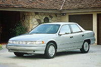 Picture of 1990 Mercury Sable 4 Dr LS Sedan