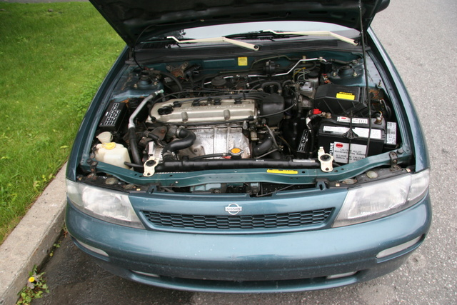 Picture of 1994 Nissan Altima SE, engine