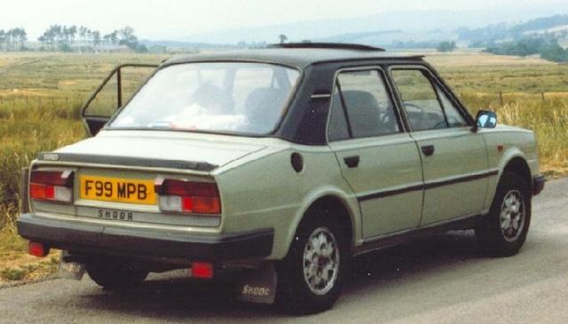 1990 Skoda 130, This is an actual Skoda 130., exterior, gallery_worthy