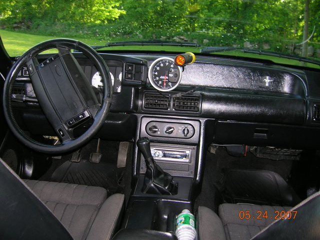1990 Ford Mustang Interior Pictures Cargurus