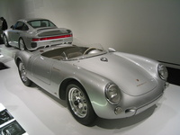1955 Porsche 550 Spyder Overview