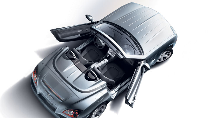 2008 Chrysler Crossfire Limited Roadster, top, manufacturer, exterior
