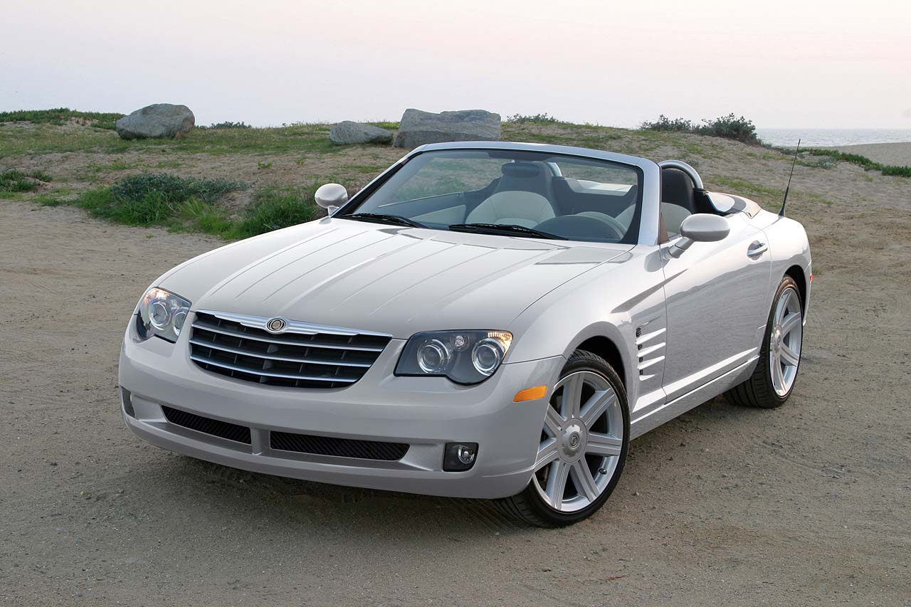 2008 Chrysler Crossfire Limited, front, exterior