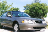 Picture of 1998 Mazda 626 LX, exterior