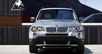 2008 BMW X3 3.0si, front view, exterior, manufacturer