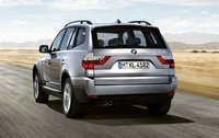 2008 BMW X3 3.0si, back view, exterior, manufacturer