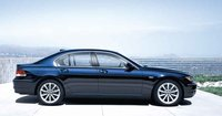 2008 BMW 7 Series, side view, exterior, manufacturer