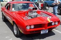 1967 Pontiac Firebird, Picture of 1968 Pontiac Firebird, exterior