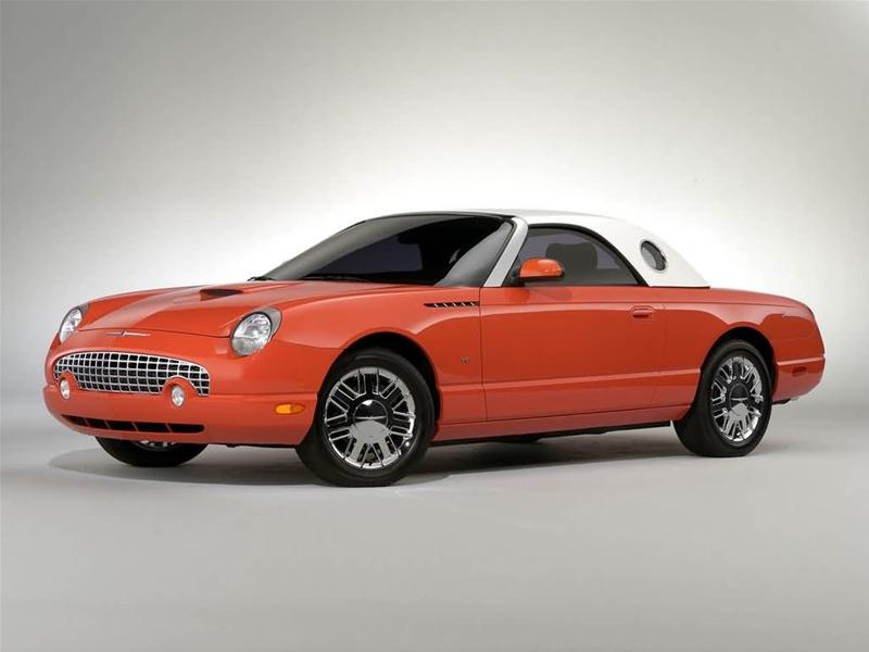 2005 ford thunderbird overview cargurus. Black Bedroom Furniture Sets. Home Design Ideas