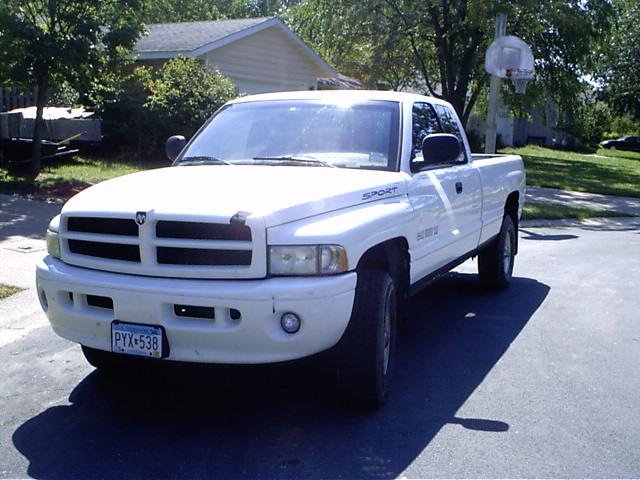 picture of 1999 dodge ram pickup 1500 2 dr st 4wd extended cab lb. Black Bedroom Furniture Sets. Home Design Ideas