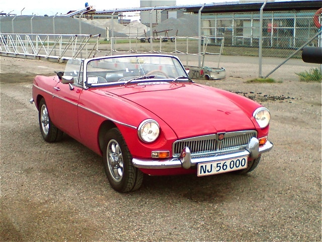 1969 MG MGB Roadster, MGB Roadster 1969, exterior