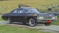1967 Chevrolet Bel Air sedan - 283, 4bbl, PowerGlide, dual exhausts, Posi rear end