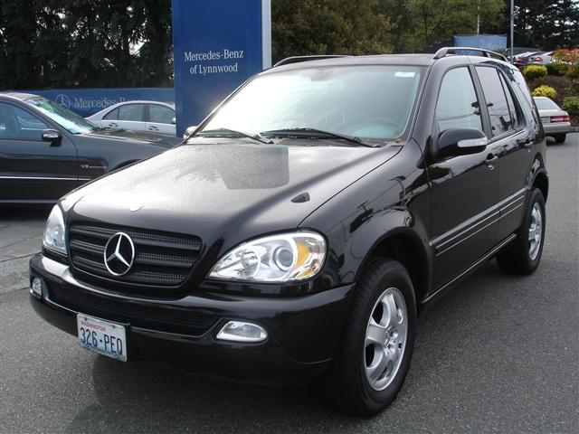 Mercedes-Benz M-Class 4 Dr ML320 AWD SUV - Pictures - 1998 Mercedes ...