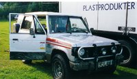 1986 Mitsubishi Pajero Picture Gallery