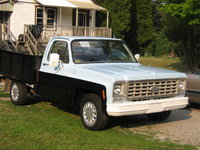 1976 Chevrolet C/K 10, pass' front/side, exterior