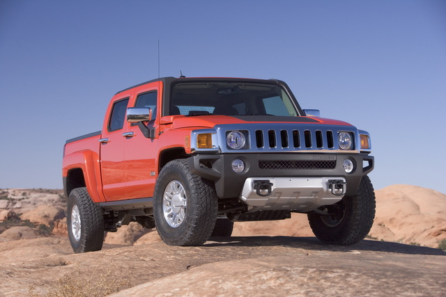 Picture of 2009 Hummer H3T, exterior, gallery_worthy