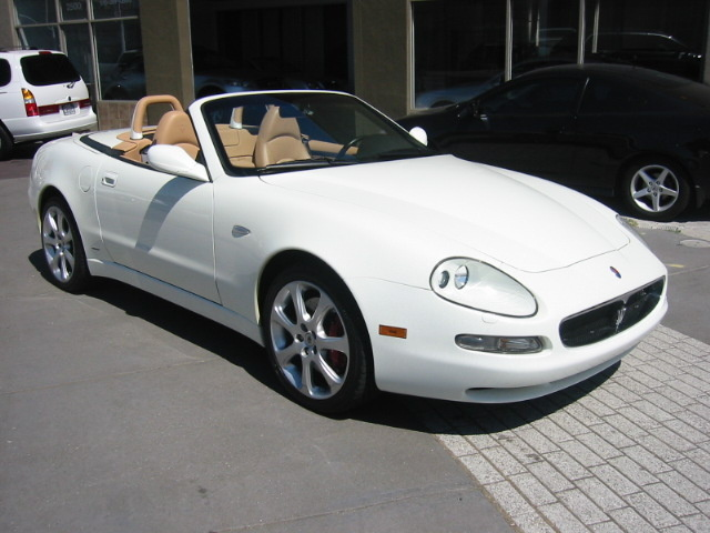 2004 maserati spyder review