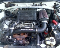 1995 Toyota Tercel 2 Dr DX Coupe picture, engine