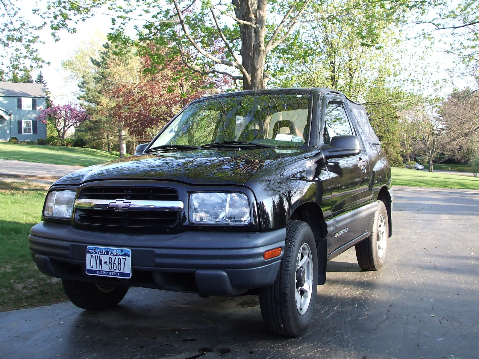 Picture of 2000 Chevrolet Tracker Base 4WD Convertible, exterior