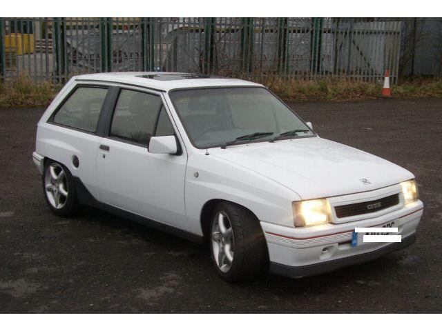 Vauxhall Nova. 1988 Vauxhall Nova picture,