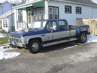 1981 Chevrolet C/K 30 Overview