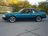 1993 Ford Mustang LX 5.0 Hatchback, 1993 Ford Mustang 2 Dr LX 5.0 Hatchback picture, exterior