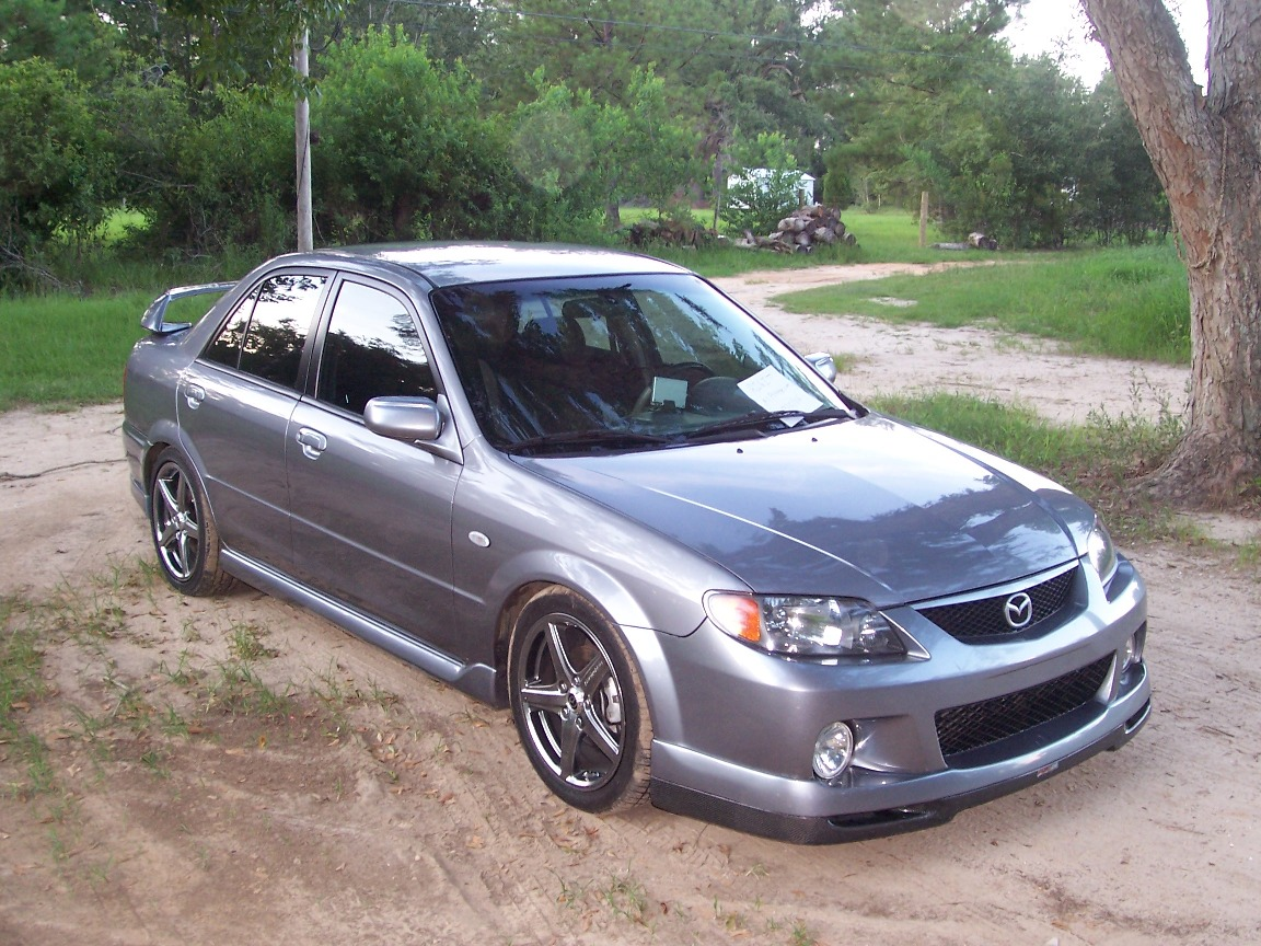 2003 Mazda MAZDASPEED Protege 4 Dr Turbo Sedan (2003.5) - Pictures ...