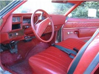 1977 Chevrolet Chevelle picture, interior