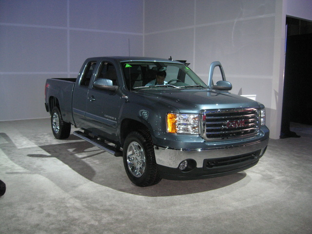 Picture of 2008 GMC Sierra 2500HD SLE2 Ext. Cab 4WD, exterior, gallery_worthy