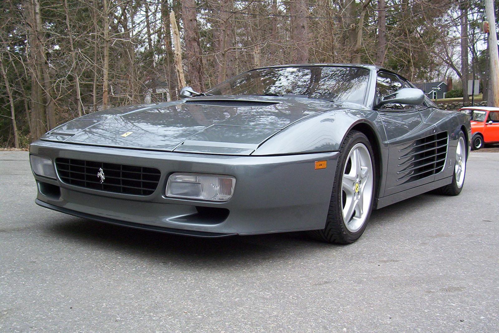 1992 Ferrari 512TR - Pictures - 1992 Ferrari Testarossa pictur ...